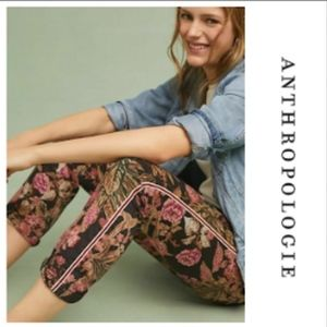 Anthropologie CHINO 27 Relaxed Floral Pant Jean